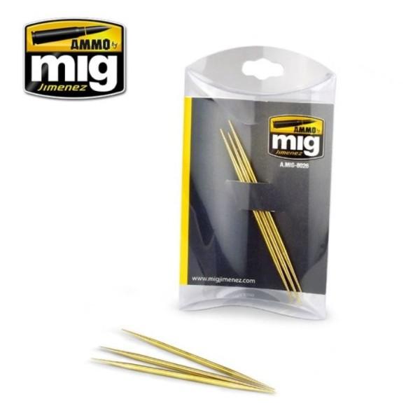 Mig - Ammo - Brass Toothpicks (3)