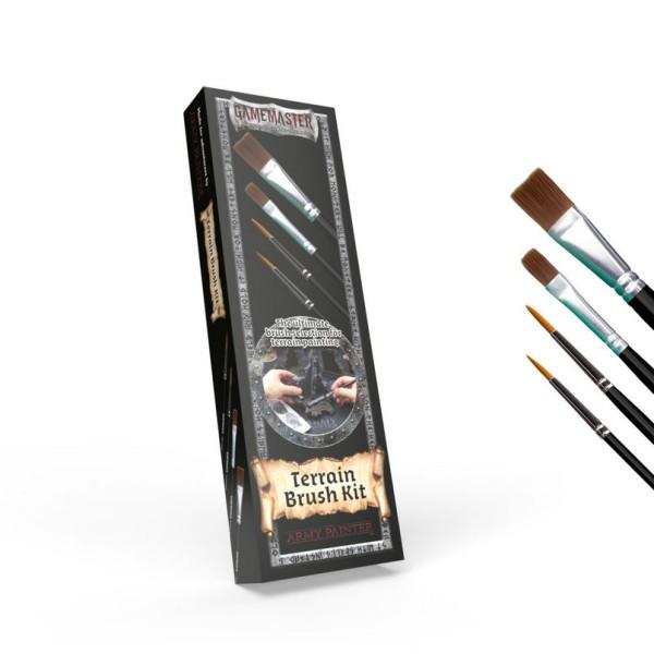 The Army Painter - Gamemaster - Terrain Brush Kit