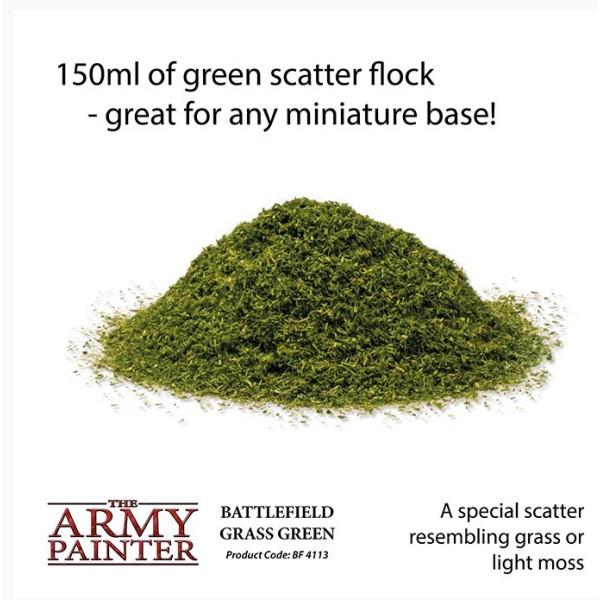 The Army Painter - Battlefields Basing: Grass Green (2019)