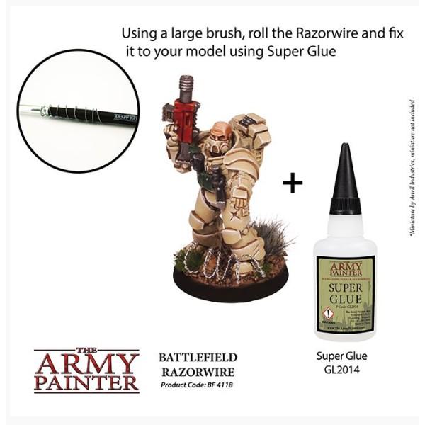 The Army Painter - Battlefields XP - Miniature Razor Wire (2019)