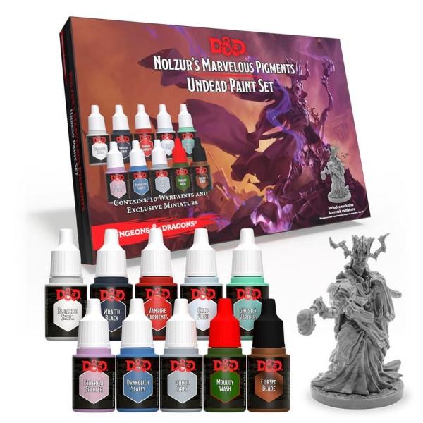 D&D - Nolzur's Marvelous Pigments - Undead Paint Set