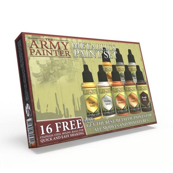The Army Painter - Warpaints - Metallics Paint Set