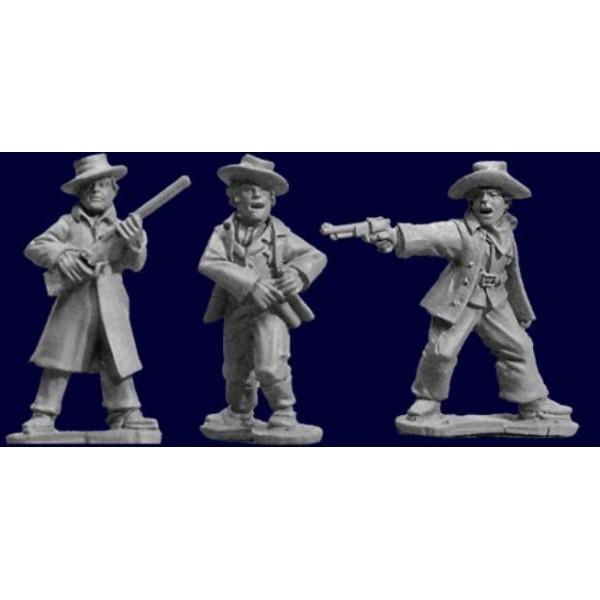 Artizan Designs - Wild West Miniatures - Lawmen I