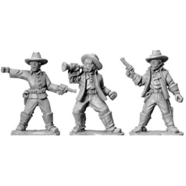 Artizan Designs - Wild West Miniatures - 7th Cavalry Command (foot)