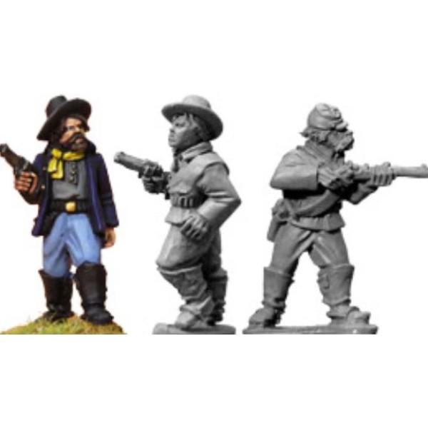 Artizan Designs - Wild West Miniatures - 7th Cavalry troopers (foot)