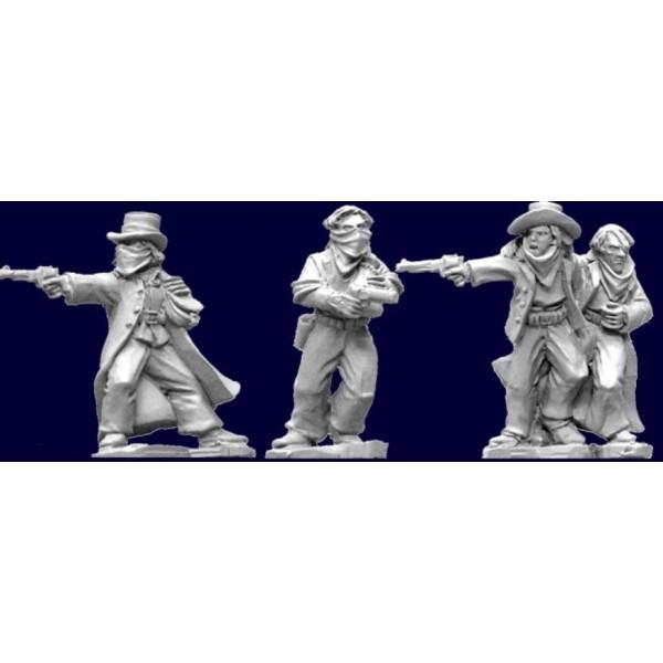 Artizan Designs - Wild West Miniatures - Bank Robbers