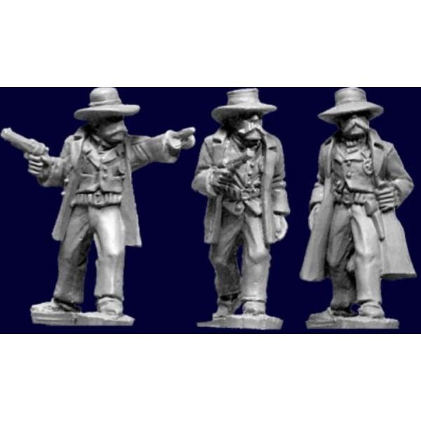 Artizan Designs - Wild West Miniatures - Lawmen II - The Earps