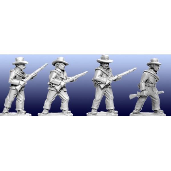 Artizan Designs - Wild West Miniatures - Plains Infantry I