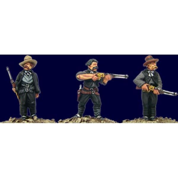 Artizan Designs - Wild West Miniatures - Texas Rangers I