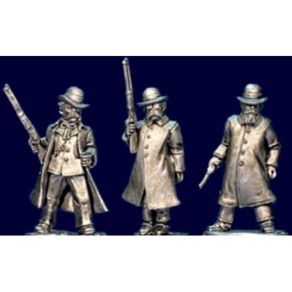 Artizan Designs - Wild West Miniatures - Pinkerton Detectives I