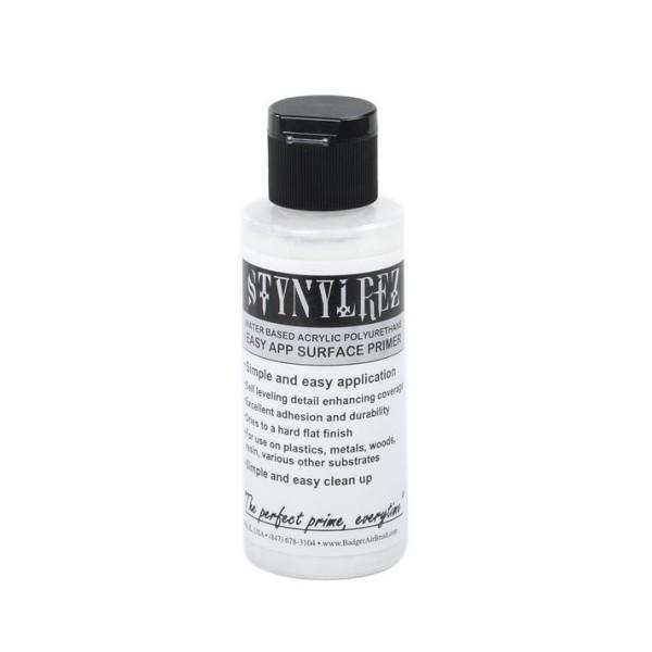 Badger Stynylrez - Acrylic Airbrush Primer - White - 60ml