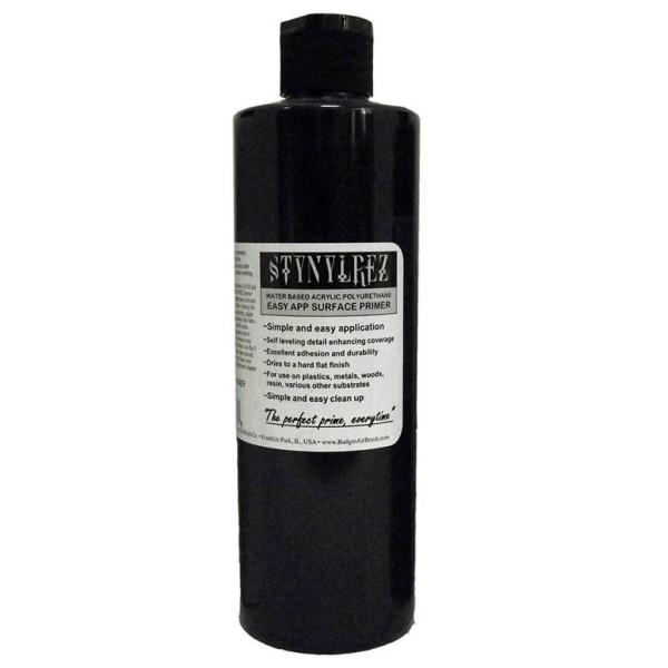 Badger Stynylrez - Acrylic Airbrush Primer - Black - 473ml