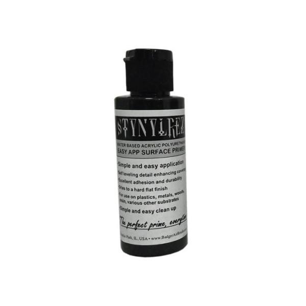 Badger Stynylrez - Acrylic Airbrush Primer - Black - 60ml