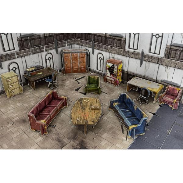 Battle Systems - Urban Apocalypse - Urban Furniture