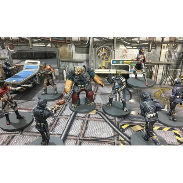 Battle Systems - CORE SPACE - Sci-Fi Miniatures Game - Cygnus Crew