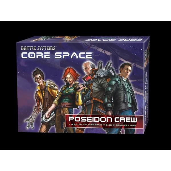 Battle Systems - CORE SPACE - Sci-Fi Miniatures Game - Poseidon Crew