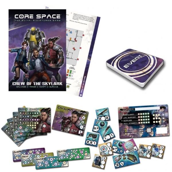 Battle Systems - CORE SPACE - Sci-Fi Miniatures Game - Skylark Crew