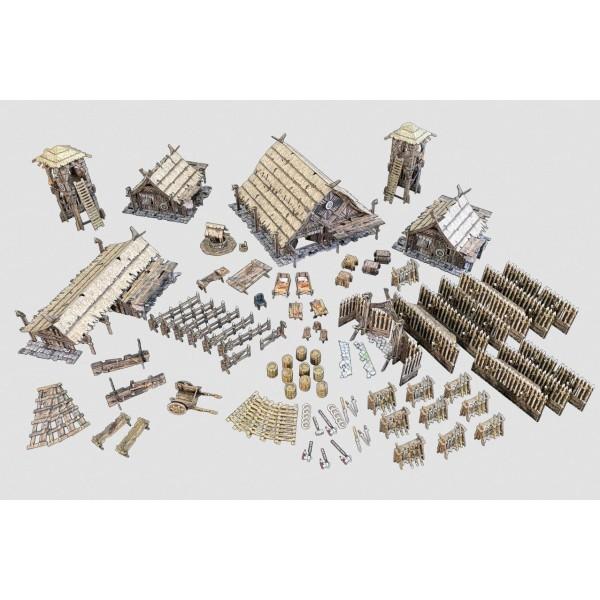 Battle Systems - Fantasy Terrain - Northern Settlement