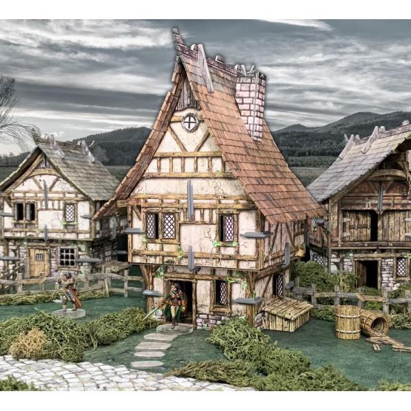 Battle Systems - Fantasy Terrain - Town House