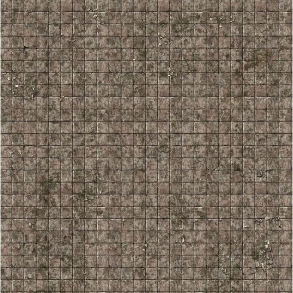 Battle Systems - Flagstone Floor - Gaming Mat 2×2 (Gridded)