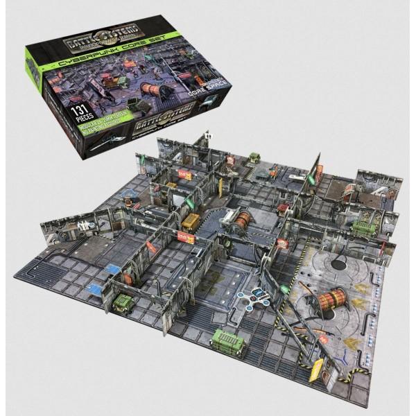 Battle Systems - Sci-Fi Terrain - Cyberpunk Core Set