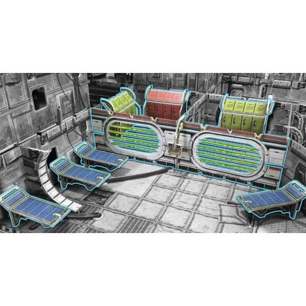 Battle Systems - Sci-Fi Terrain - Detention Cells