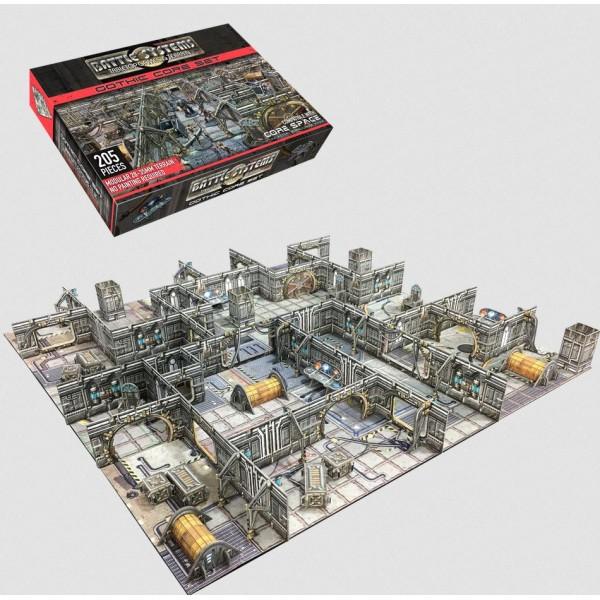 Battle Systems - Sci-Fi Terrain - Gothic Core Set