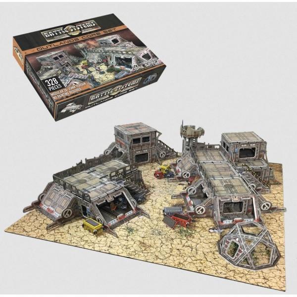 Battle Systems - Sci-Fi Terrain - Outlands Core Set