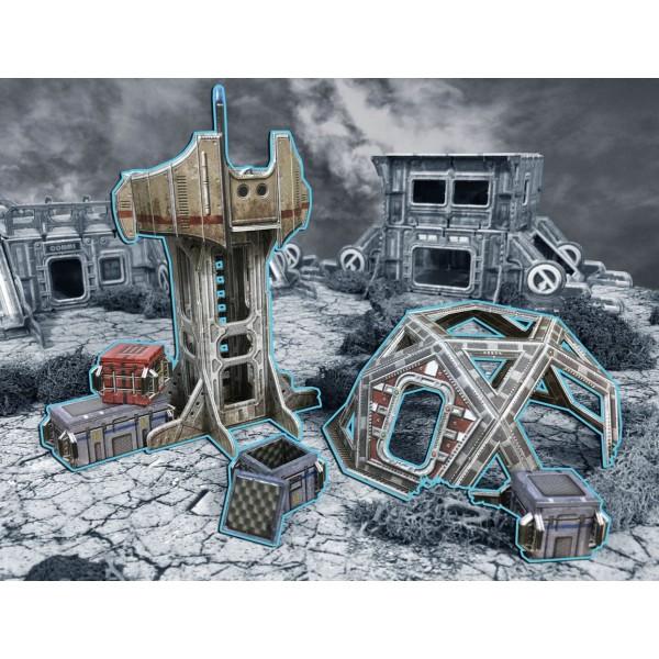 Battle Systems - Sci-Fi Terrain - Outlands Explorer Station