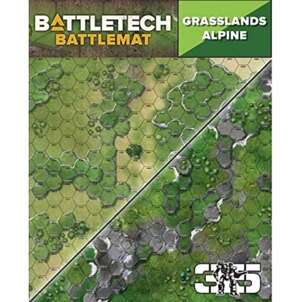 Battletech - Battle Mat - Grassland C / Alpine