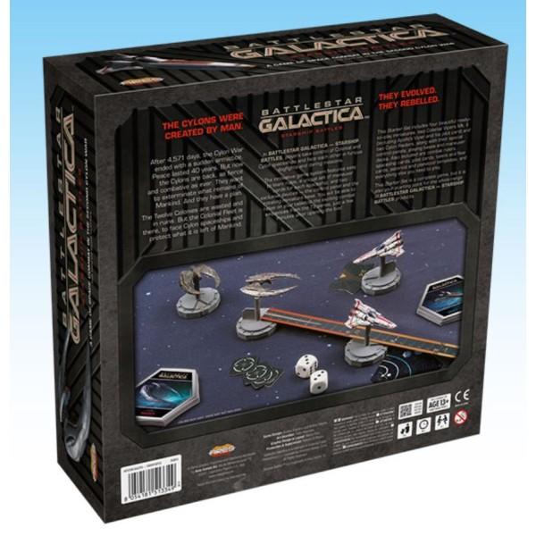 Battlestar Galactica - Starship Battles Miniatures Game - 2 Player Starter Set