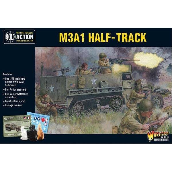 Bolt Action - US - (NEW) M3A1 Half-track (plastic)