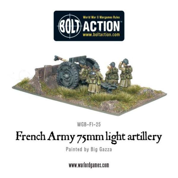 Bolt Action - French - 75mm Light Artillery