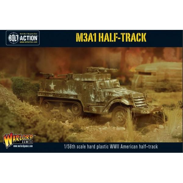 Bolt Action - US - M3A1 Half-track plastic boxed set