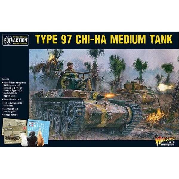 Bolt Action - Japan - Japanese Type 97 Chi-Ha Medium Tank