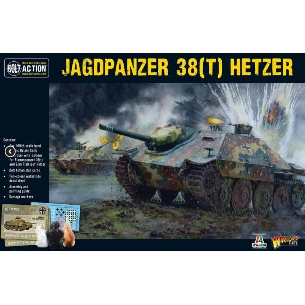 Bolt Action - Germany - Jagdpanzer 38 (T) Hetzer
