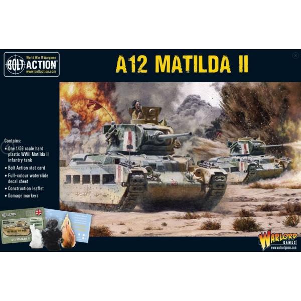 Bolt Action - British - A12 Matilda II tank