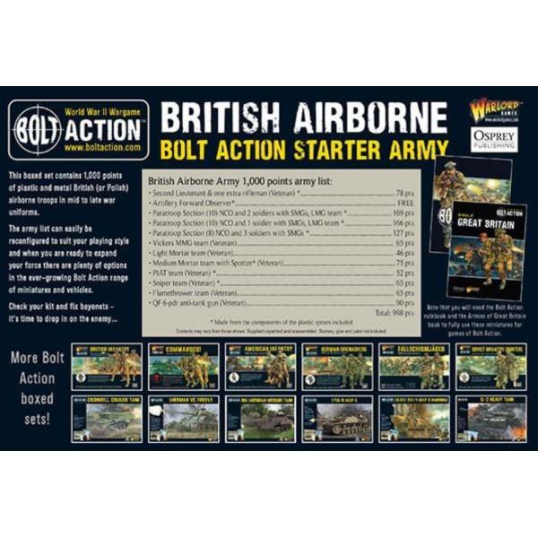 Bolt Action - British Airborne - Starter Army