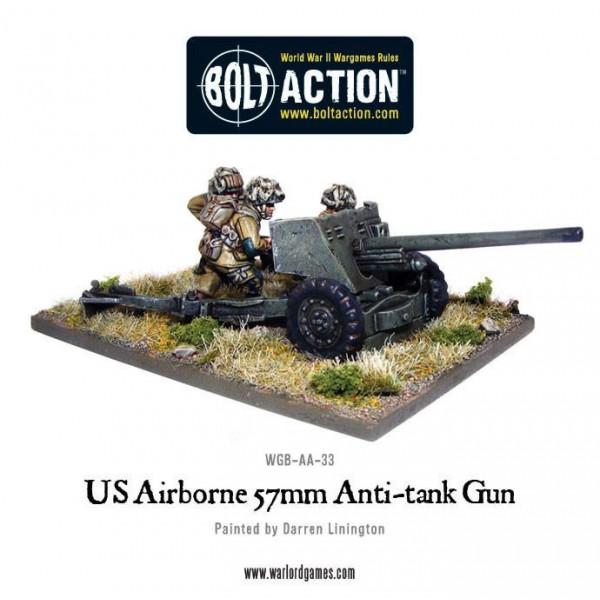 Bolt Action - US - 57mm Anti-Tank Gun
