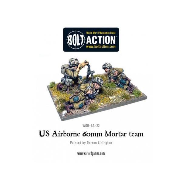 Bolt Action - US - Airborne 60mm Mortar
