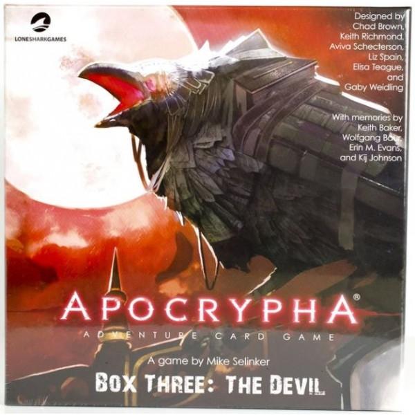 Apocrypha - Adventure Card Game - Box 3 - The Devil