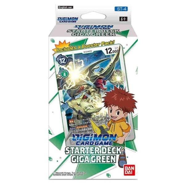Digimon Card Game - Series 04 - Starter Deck - Giga Green