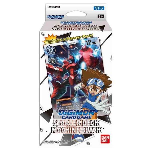 Digimon Card Game - Series 04 - Starter Deck - Machine Black