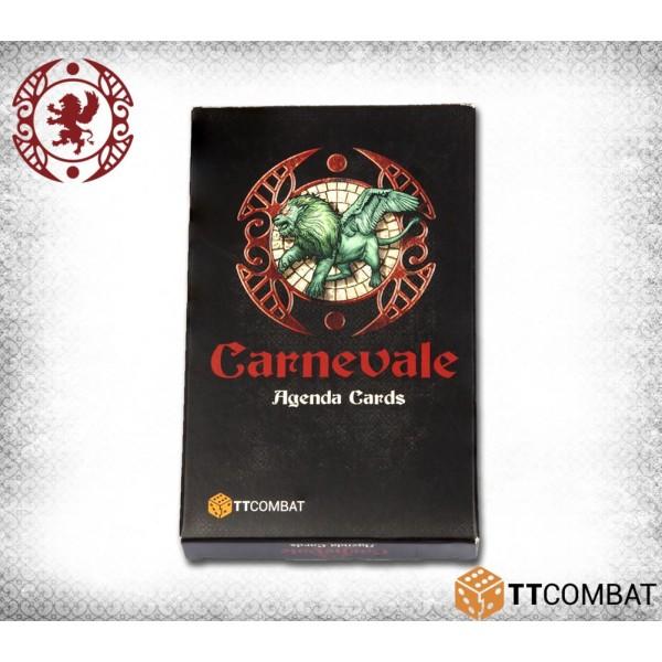Carnevale - Agenda Cards
