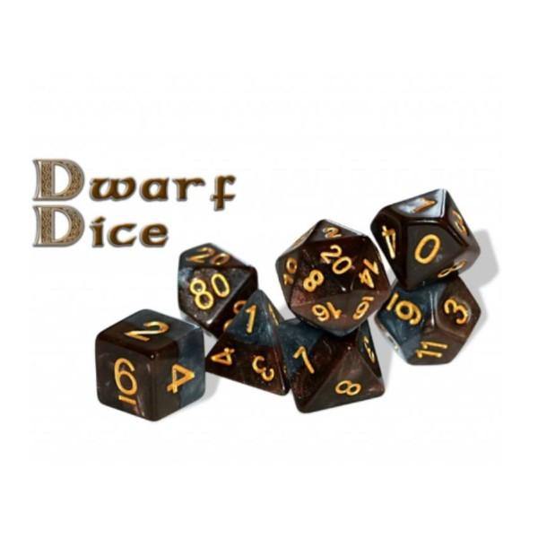 Halfsies RPG Dice - Dwarf Dice Set