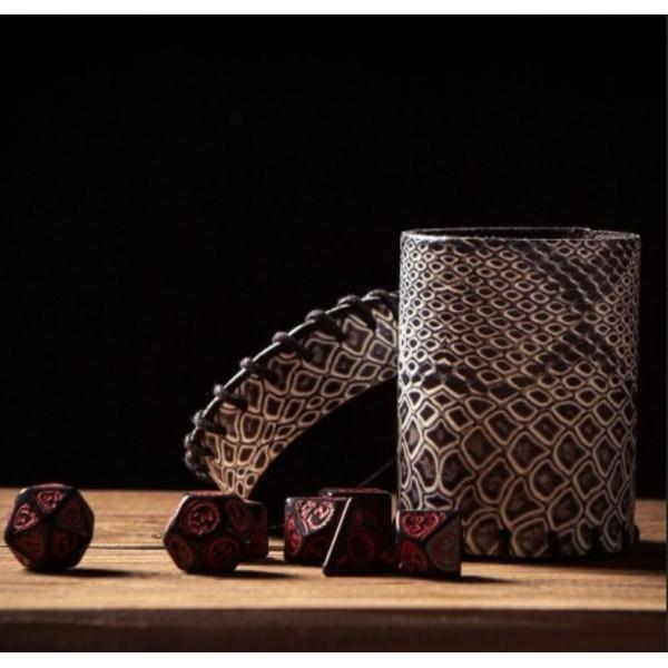 Q-Workshop - Dragonhide Laminated Dice Cup