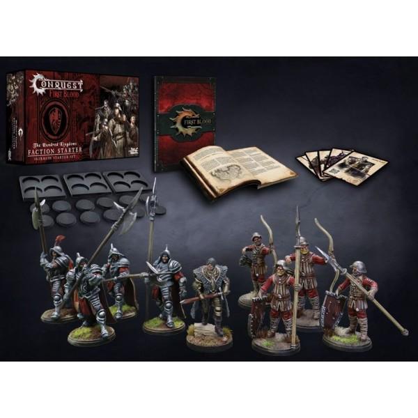 Conquest - First Blood Skirmish Game - Hundred Kingdoms Starter Set