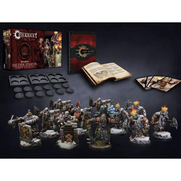 Conquest - First Blood Skirmish Game - Dweghom Starter Set