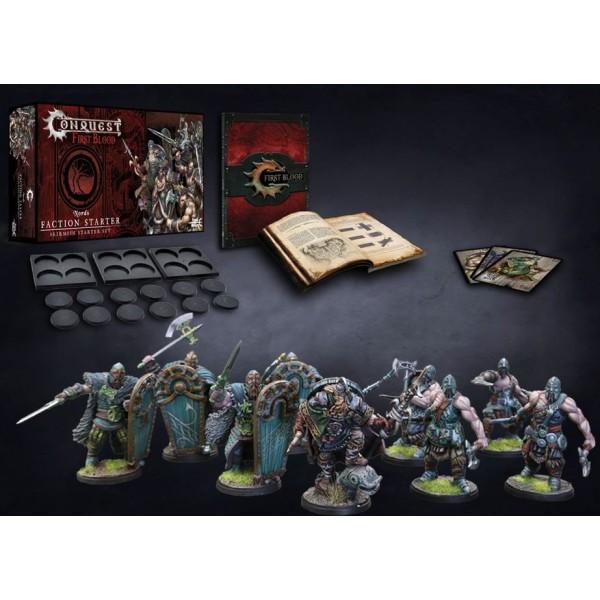 Conquest - First Blood Skirmish Game - Nords Starter Set
