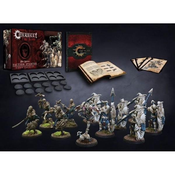 Conquest - First Blood Skirmish Game - Spires Starter Set